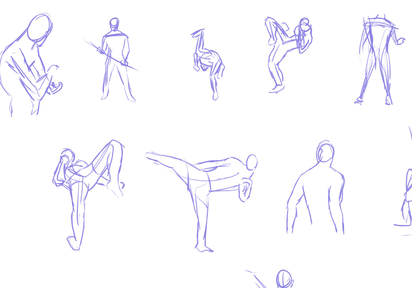 1000 Poses challenge  (and others) - General - Forums