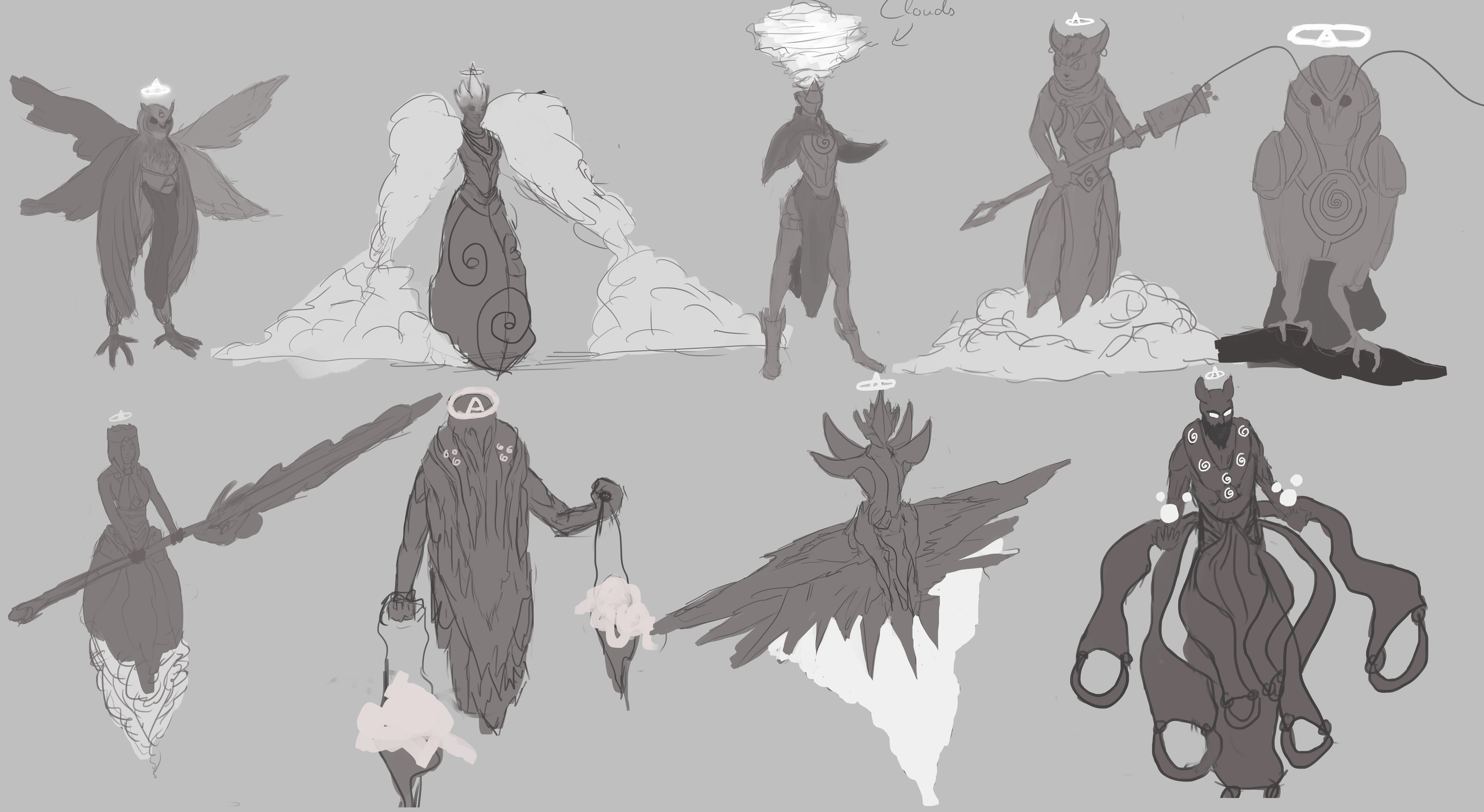 Character Design Godess Of Air Art Critique Forums Cubebrush