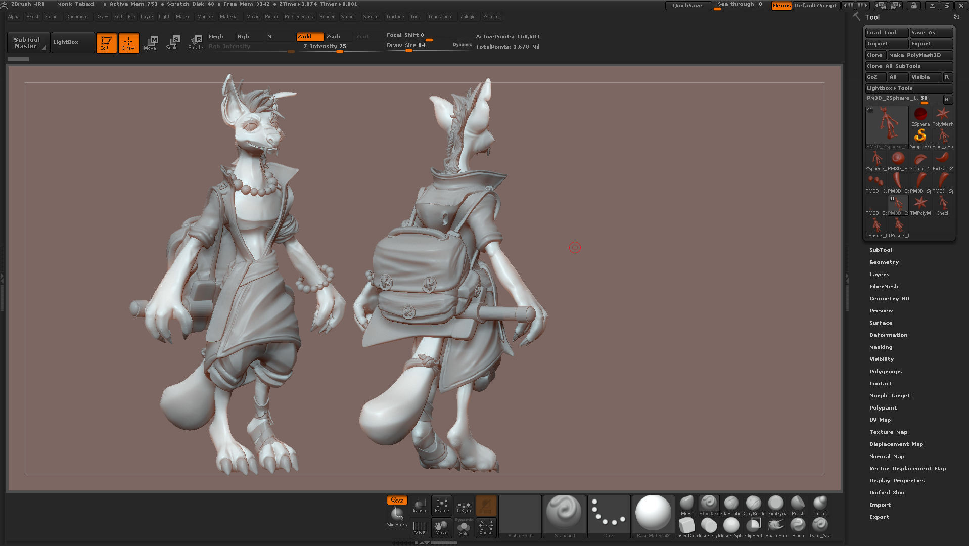 3d Tabaxi Monk Dnd Char Wips Forums Cubebrush All images must be original content, must include oc or art in the title, and must be accompanied by a description in the comments of at least 400 this is puff puddlepond. 3d tabaxi monk dnd char wips forums