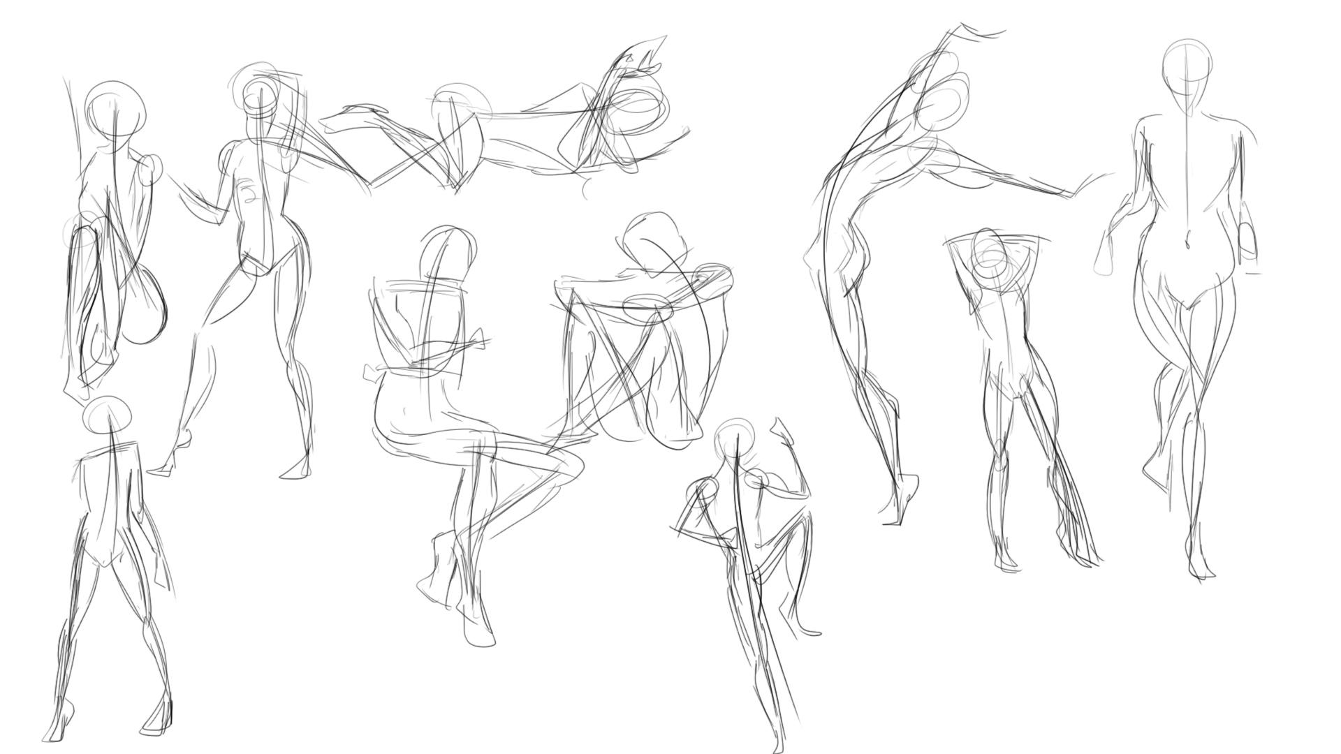Term 1 Gesture Drawings Aster Xi Art School Forums